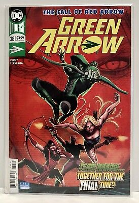 Green Arrow #38 Near Mint-Unread!