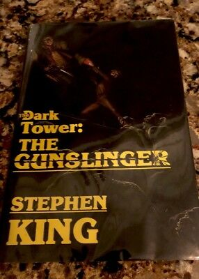The Dark Tower: The Gunslinger Stephen King Autographed 1982,1st Edition signed