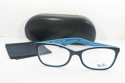 4451833f42d RAY-BAN RB 5338-I 5529 Black Teal New Authentic Eyeglasses 51mm w ...