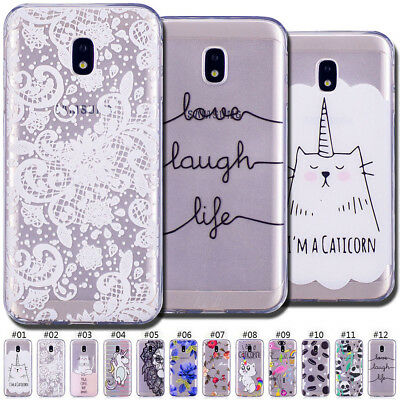 Fashion TPU Case Cover Silicone Back Skin For Samsung Galaxy J3(2017)EU Version