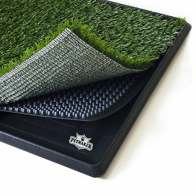 Training Indoor Grass Toilet Patch Dog Grass Pad Potty Large Pee Pads Tray Puppy