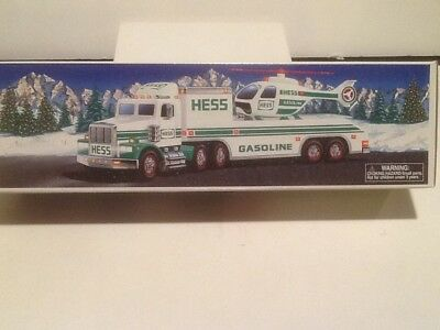 Hess 1995 Toy Truck and Helicopter NEW