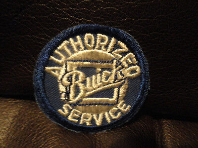 Authorized Buick Service Patch - Vintage - New - Original - Auto - 2 inch round