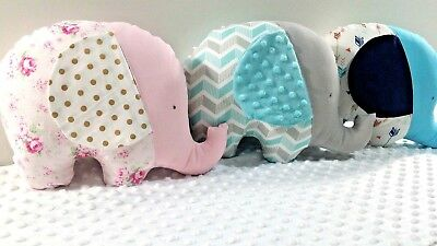 New Elephant shape Novelty cushions - Ideal for the nursery or toddlers room!