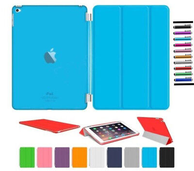 US Smart Magnetic Leather Stand Case Cover for iPad 2 3 4 Air Mini Pro 9.7 10.5
