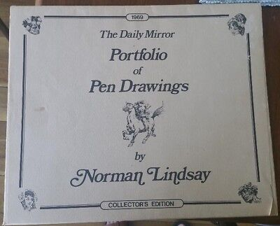 Norman Lindsay, limited edition 1969 Daily Mirror portfolio of prints