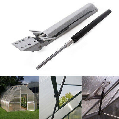 New Greenhouse Automatic Roof Solar Heat Temperature Sensitive Window Opener Kit