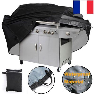 57/67 inch Imperméable Anti-UV Couvercle Protection Housse Pour Barbecue BBQ