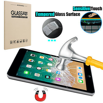 For iPad 6th Generation 9.7'' 2018 /Air/5/6 Screen Protector Tempered Glass Film