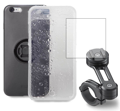 SP Connect Waterproof Motorcycle Phone Handlebar Mount for iPhone 8+/7+/6s+/6+