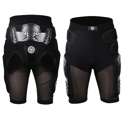 Cool Men Motorcycle Race Skiing Shorts Hips Pad Protector Armor Pads Short Pants