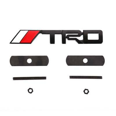 "5.7""x 0.8"" Bolt on 3D TRD Front Grill Grille Emblem Logo Decal Badge For Toyota"