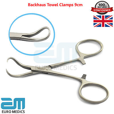 Dental Surgica Hemostat Backhaus Clamp Forceps Surgical Handle Plier Tools