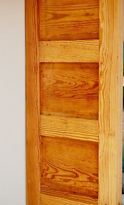 Antique Southern Yellow Pine Doors- 20 Available