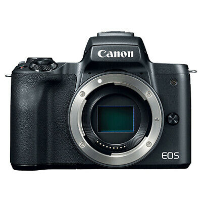 Canon EOS M50 Mirrorless 24.1MP Digital Camera Body Black