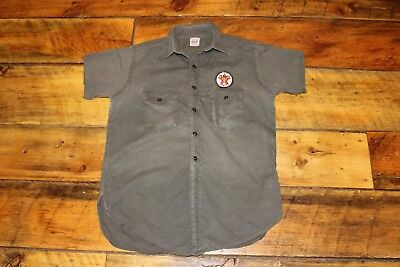 1936 SWEET ORR ACE of SPADES Brand Workwear TEXACO Gas Station Attendant Shirt