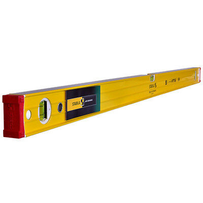 Stabila 96-2 Double Plumb Ribbed Box Section Spirit Level 120cm / 1200mm / 48""