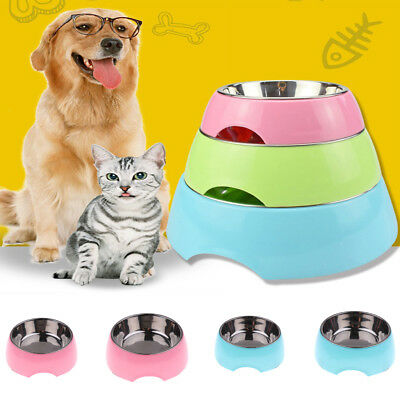 Kitty Puppy Food Bowl Water Container Feeding Dispenser for Small Animal Dog Cat