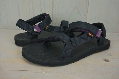 d5eabfb57e91 TEVA ORIGINAL UNIVERSAL Puff Womens Black Sandals Size Us 9 Nib ...