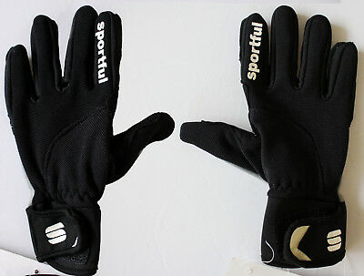 SPORTFUL black/grey Vasa kid gloves guanti bambino neri/grigi cod. 0400472