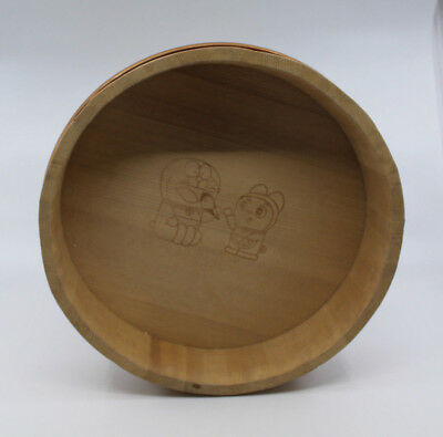 Doraemon Sushi Oke Rice Mixing Wooden Bowl Tub Made in Japan Japanese Anime Rare