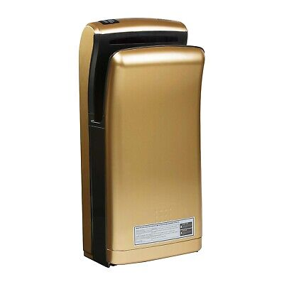 Hand Dryer Electrical Hand Dryer Wall Hand dryer 1200 W Wall mounting gold