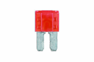 Genuine CONNECT 37180 10amp LED Micro 2 Blade Fuse Pk 25