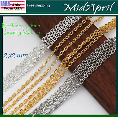 Necklace Chain Jewelry Making   US SELLER