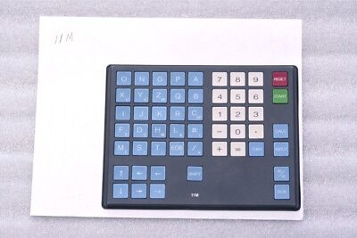 Keysheet Keypad FANUC 11M, A98L-0001-0481#M Replacement