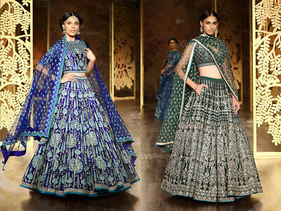 Bollywood bridal Lehenga choli Indian Pakistani heavy Ethnic wedding wear BLC
