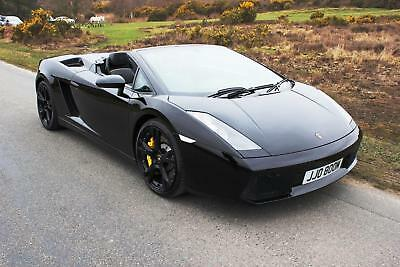Lamborghini Gallardo 5.0 V10 ( 520bhp ) Spyder E-Gear 2008 Mint Condition