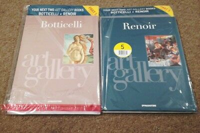 DeAgostini Art Gallery: Artists Book Collection Issue 5 BOTTICELLI & RENOIR