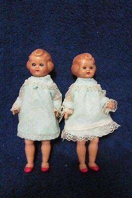 Vintage Pair of Made in Italy Dolls