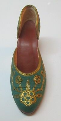 Just The Right Shoe Carved Heel 56968 New In Box