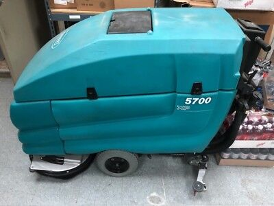Tennant 5700 XP Floor Scrubber Cleaner Great Condition Refurbished