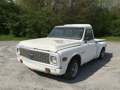 1972 Chevrolet C-10  72 Chevy C-10 Project Truck
