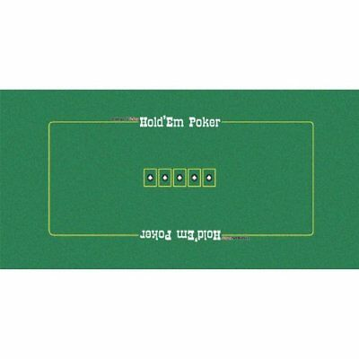 Trademark 10-3040 Poker Texas Holdem Layout, 36 X 72-Inch