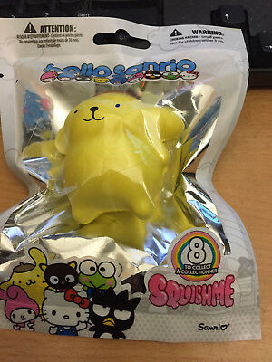 Hello Sanrio Scented Squishme Soft Toy Pompompurin Brand New Japan