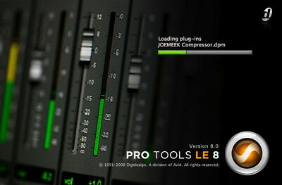 PRO TOOLS 8 TO 8.0.5 LE DOWNLOAD AND ACTIVATION CODE / Digidesign MBox 002 003