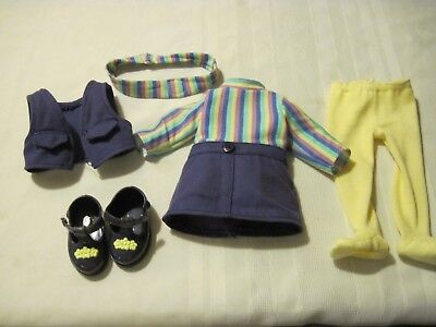 Amazing Ally Doll Clothes Outfit Dress, Leggings, Shoes, Headband Playmate Toys