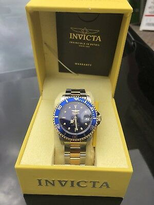 244201e9f NEW Invicta Men's 8928OB Pro Diver Gold Stainless Steel Two-Tone Automatic  Watch