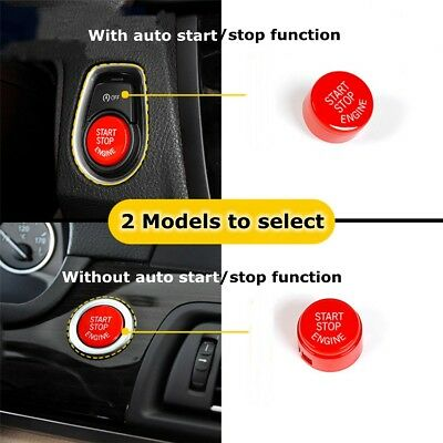 Engine Start Stop Push Button Switch Cover For BMW 5 6 7 F20 F21 F30 F31 F10 F11