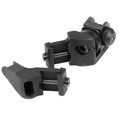 45 Degree Front Rear Offset Backup Rapid Transition Iron Sights Mount Hunting