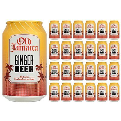 Old Jamaica Ginger Beer Palette 24x 330 ml Dosen