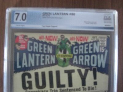 Green Lantern #80 PGX 7.0 OW/W Letter from Don McGregor