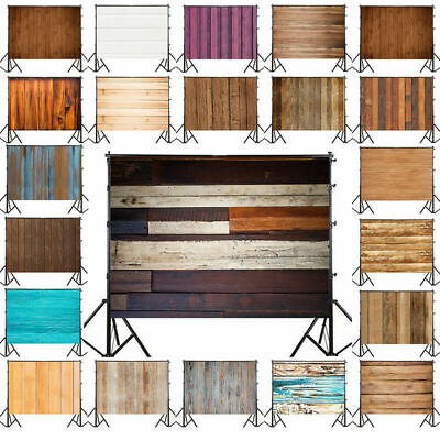 Plank Style Vinyl Photography Backdrop Studio Photo Background Props 3x5ft 5x7ft