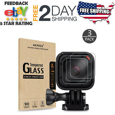 Tempered Glass Screen Protector for Gopro Hero 4 5 Session Scratch-resistant