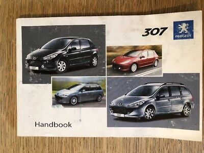 genuine peugeot 307 cc owner manual handbook wallet case genuine rh picclick co uk Peugeot 307 2008 Peugeot 406 Manual Model 2003