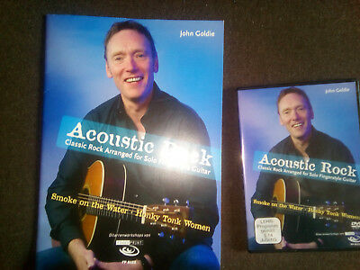 Acoustic Rock: Classic Rock Arranged for Solo Fingerstyle Guitar, inkl. DVD Gold