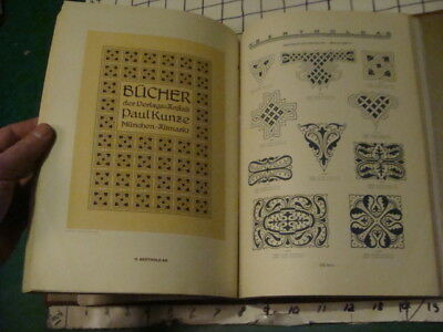 Original Vintage 1920's TYPEFACE CATALOG -- H BERTHOLD -- 100+ pages, DESIGN